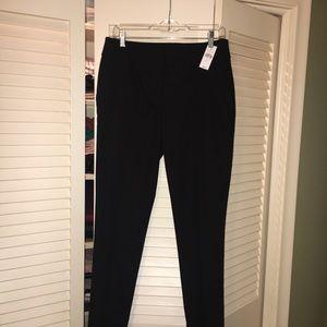 LOFT Black Marisa fit skinny ankle pants